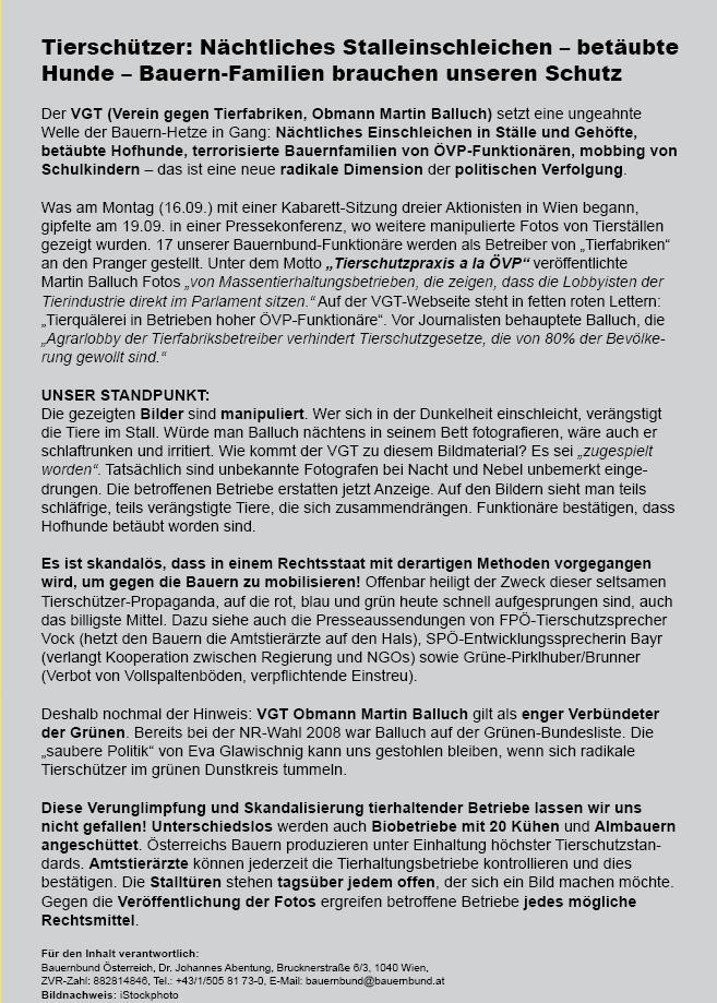 BauernbundFlugiTierschutzTerror2