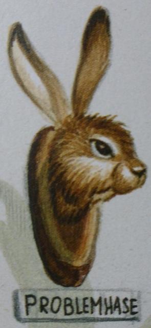 """Ausschnitt einer Karikatur aus Bruno Haberzettls Buch """"Brunos Jagdfieber"""""""