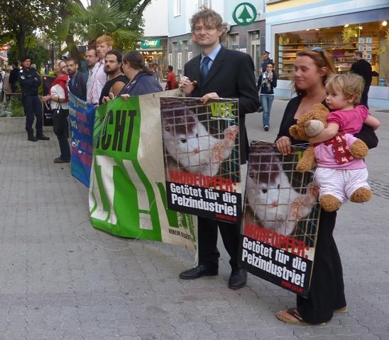"""""""Gewalttätige Tierschutz-ExtremistInnen"""" im Einsatz!"""