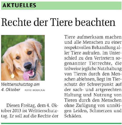 Bauernzeitung20131003Tierschutz
