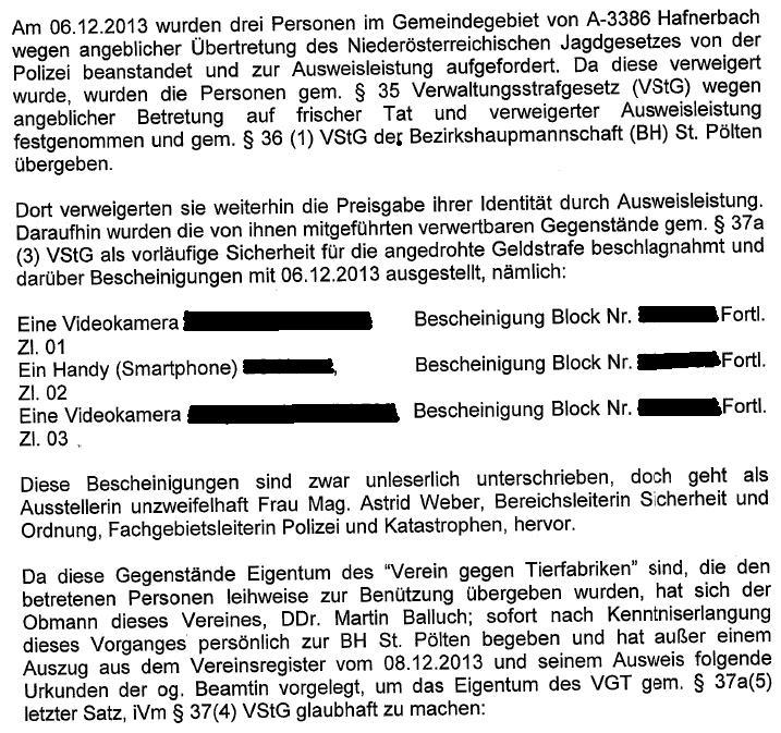 AnzeigeAmtsmissbrauchBHStPölten1