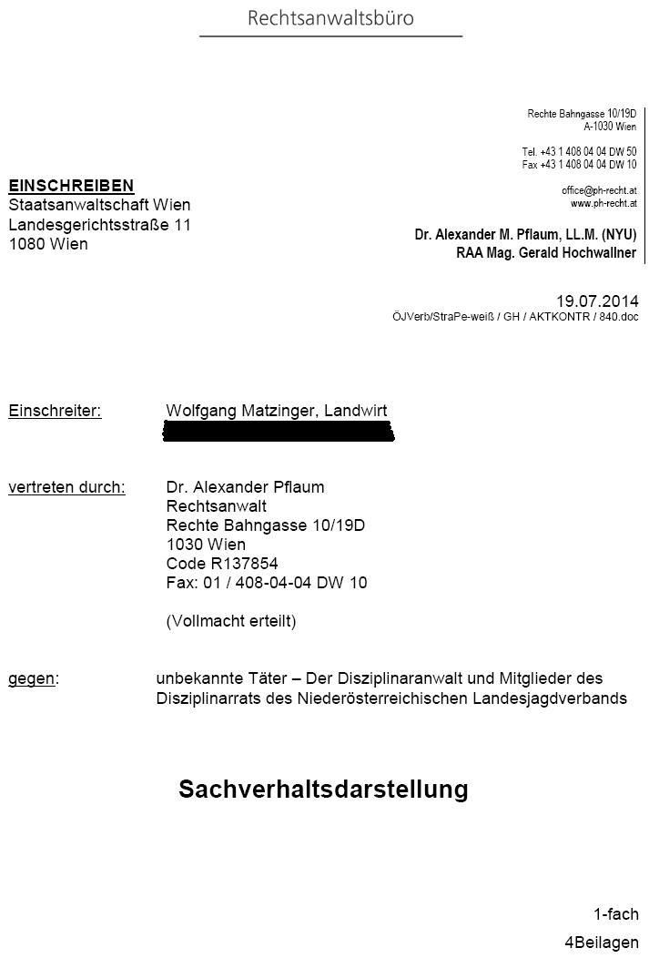 AnzeigeAmtsmissbrauchKaumberg1