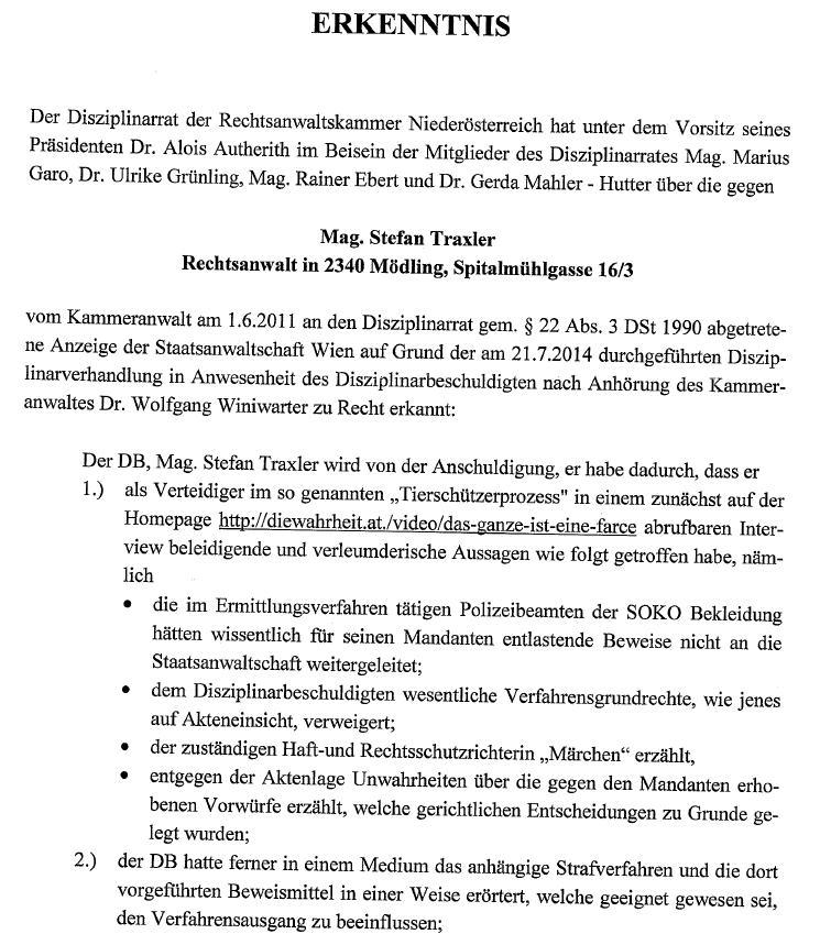 FreispruchTraxlerRAKammer02