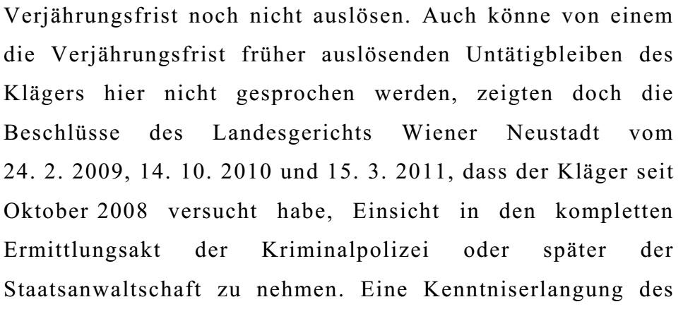 OGHBeschlussKlageSchaden08