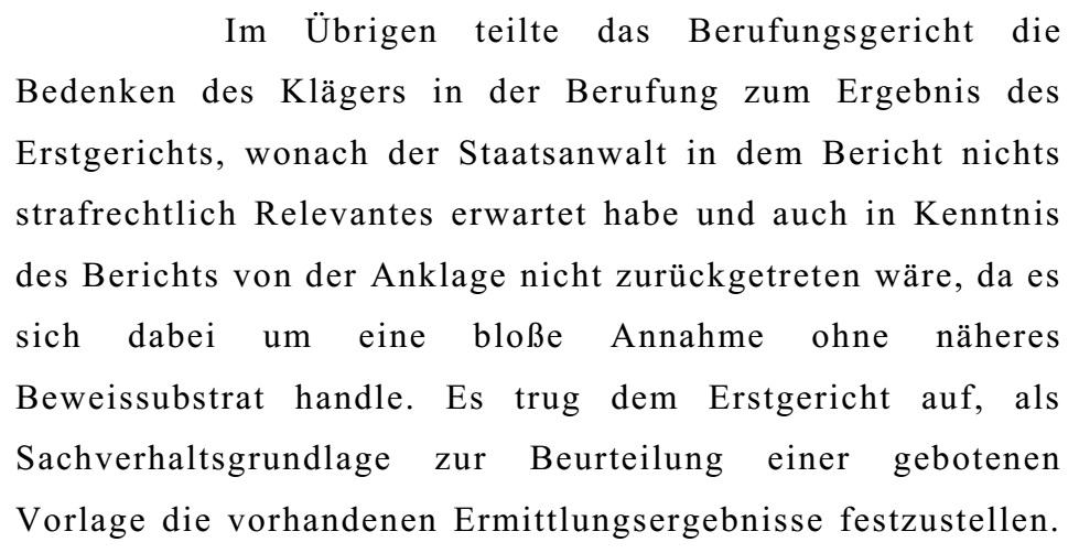 OGHBeschlussKlageSchaden09