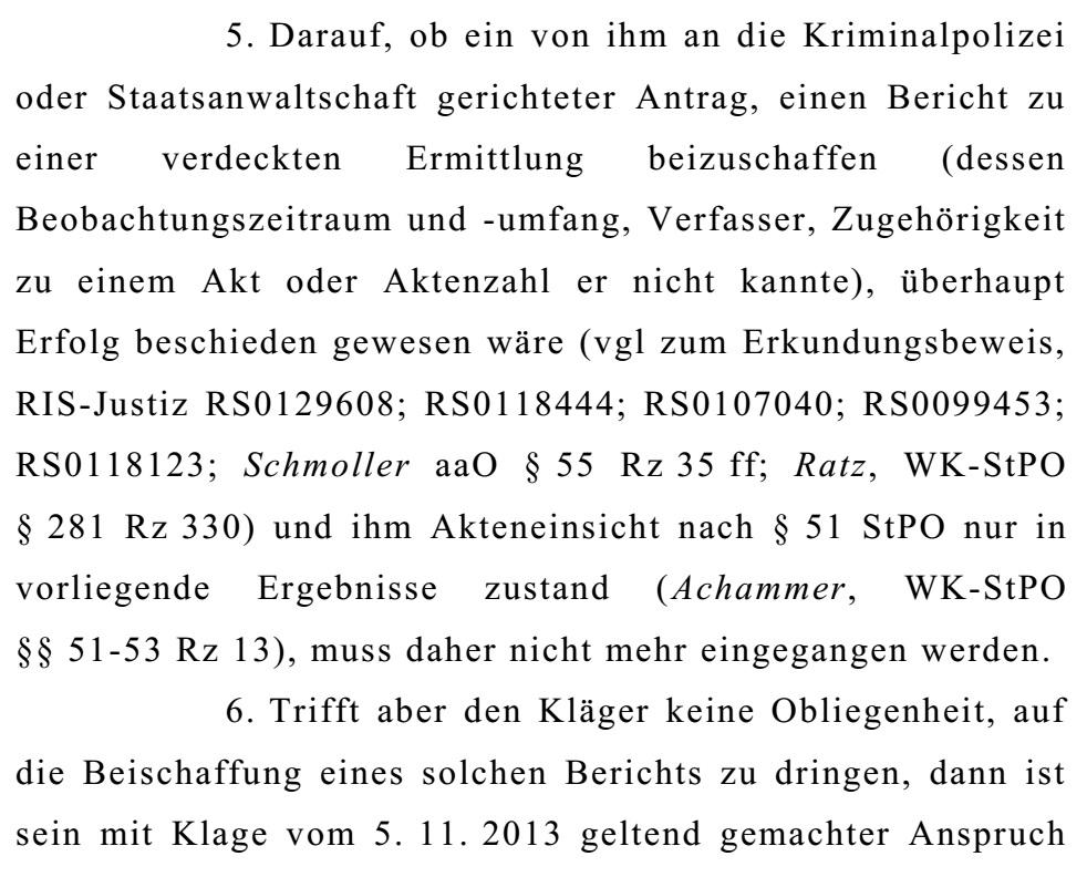 OGHBeschlussKlageSchaden12