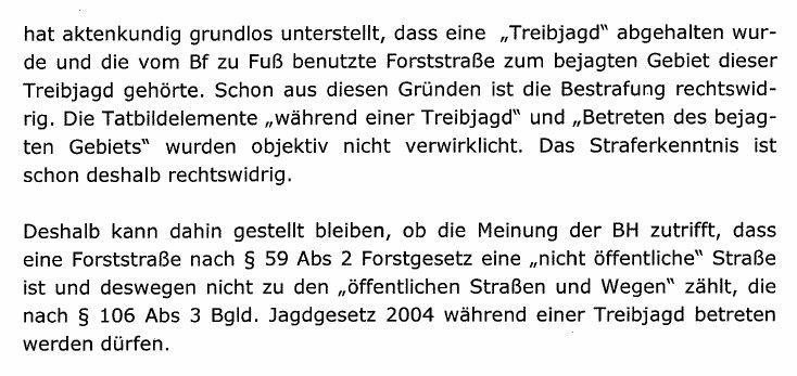 GatterjagdDraskovichLandesverwaltungsgerichtFreispruch3