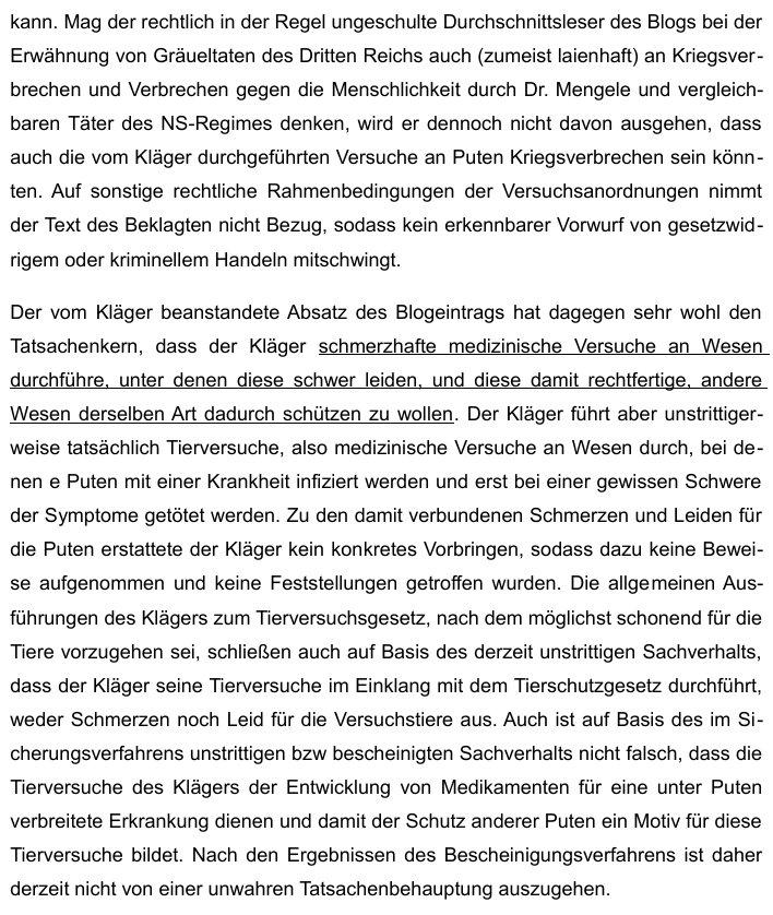 UrteilKlageHessMenschenversucheEVErsteInstanz2