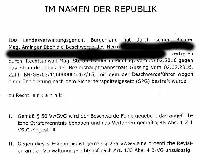 20170321PlatzverbotAMPGesetzwidrigLVWGEisenstadt1