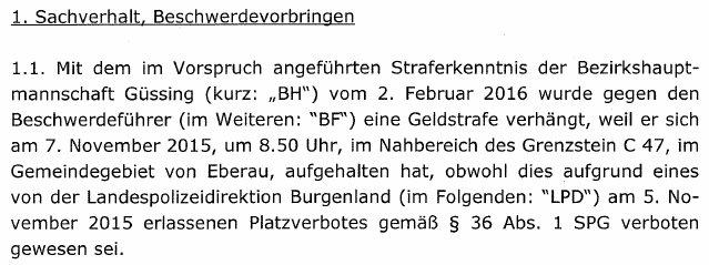 20170321PlatzverbotAMPGesetzwidrigLVWGEisenstadt2