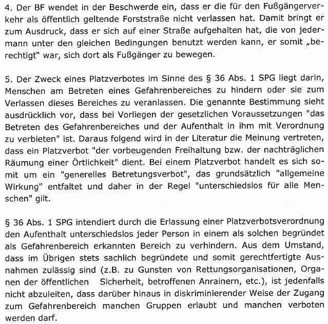 20170321PlatzverbotAMPGesetzwidrigLVWGEisenstadt6