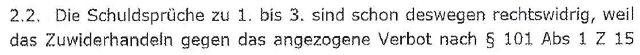 VerurteilungAMPAufhebungLandesverwaltungsgericht3