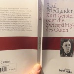 """Ziviler Ungehorsam im Dritten Reich? - """"Kurt Gerstein oder die Zwiespältigkeit des Guten"""""""