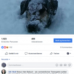 Antwort auf ORF-Journalistin Ulli Wolfs Facebook-Kommentar