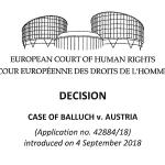 Schadenersatzklage Tierschutzprozess: EGMR weist Klage zurück!