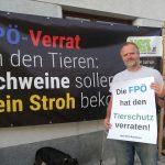 Demo für Schweine: FPÖ hat die Tiere verraten