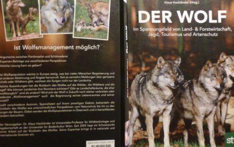 """""""Der Wolf"""" – ein neues Buch seitens der österreichischen Jägerschaft"""